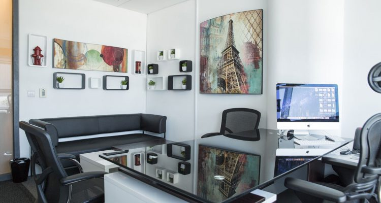 das home office richtig einrichten b roausstattung. Black Bedroom Furniture Sets. Home Design Ideas